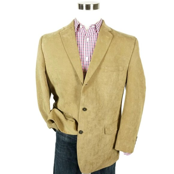 Calvin Klein Other - Calvin Klein Mens Corduroy Three Button Sport Coat